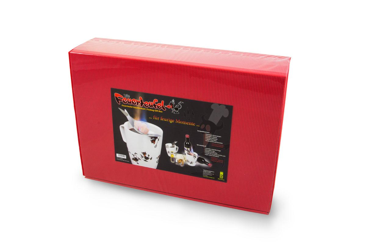 feuerteufel geschenkbox take2 design gmbh co kg. Black Bedroom Furniture Sets. Home Design Ideas